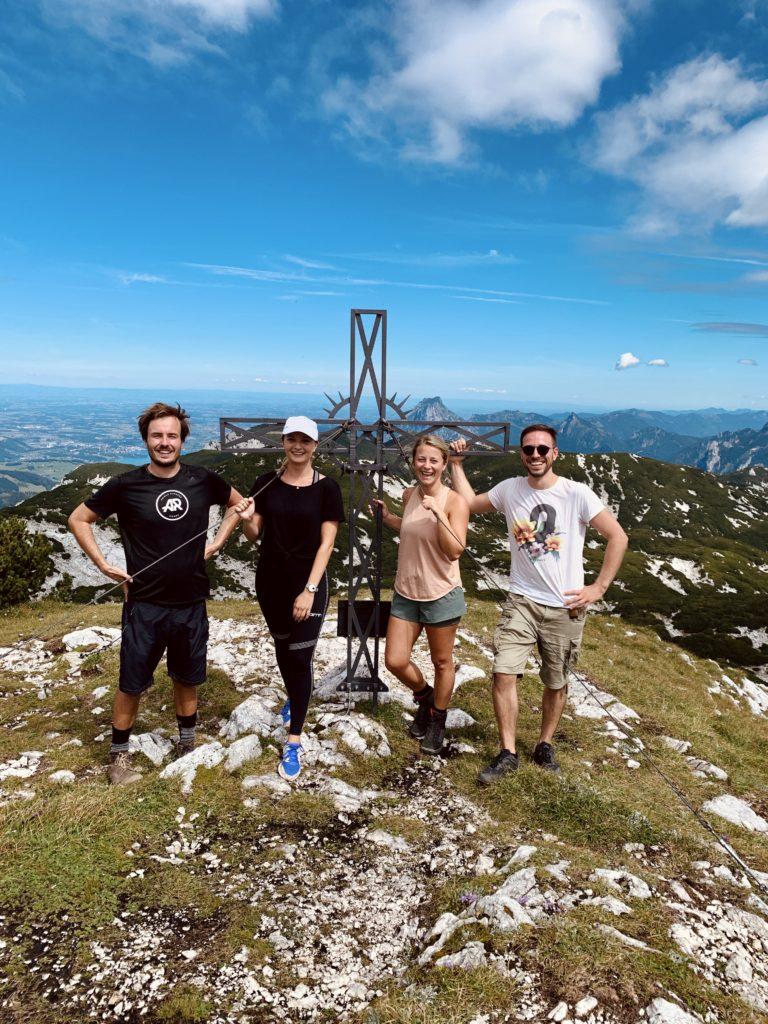 Österreichs Gipfel besteigen