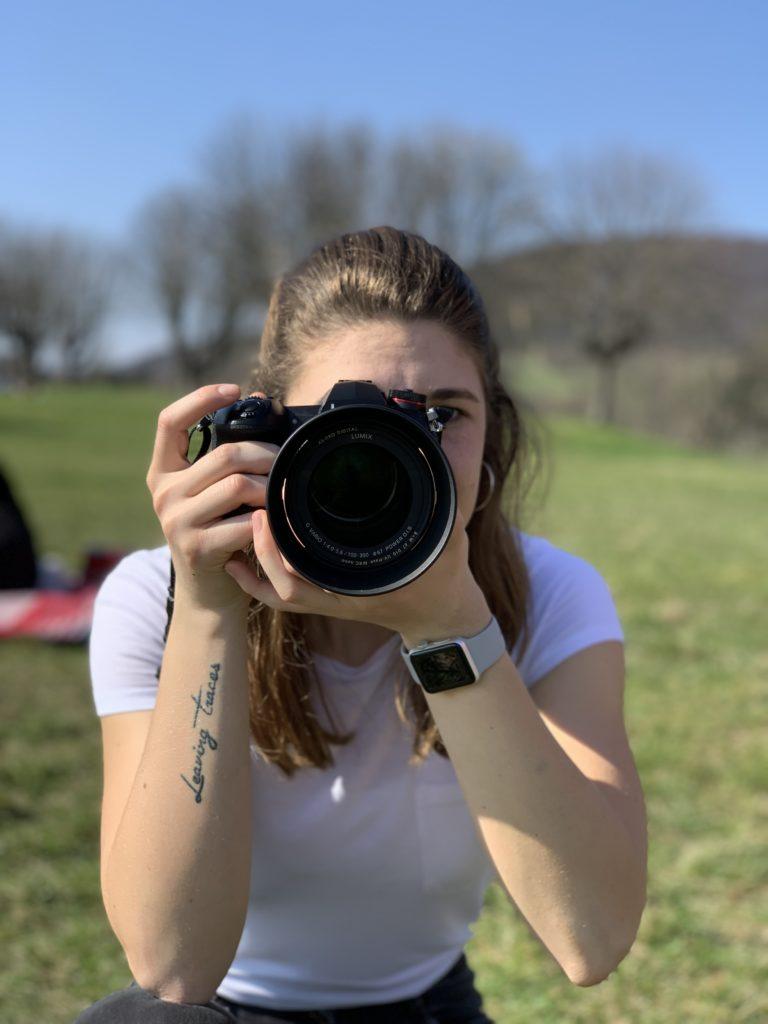 Ich fotografiere super gerne.