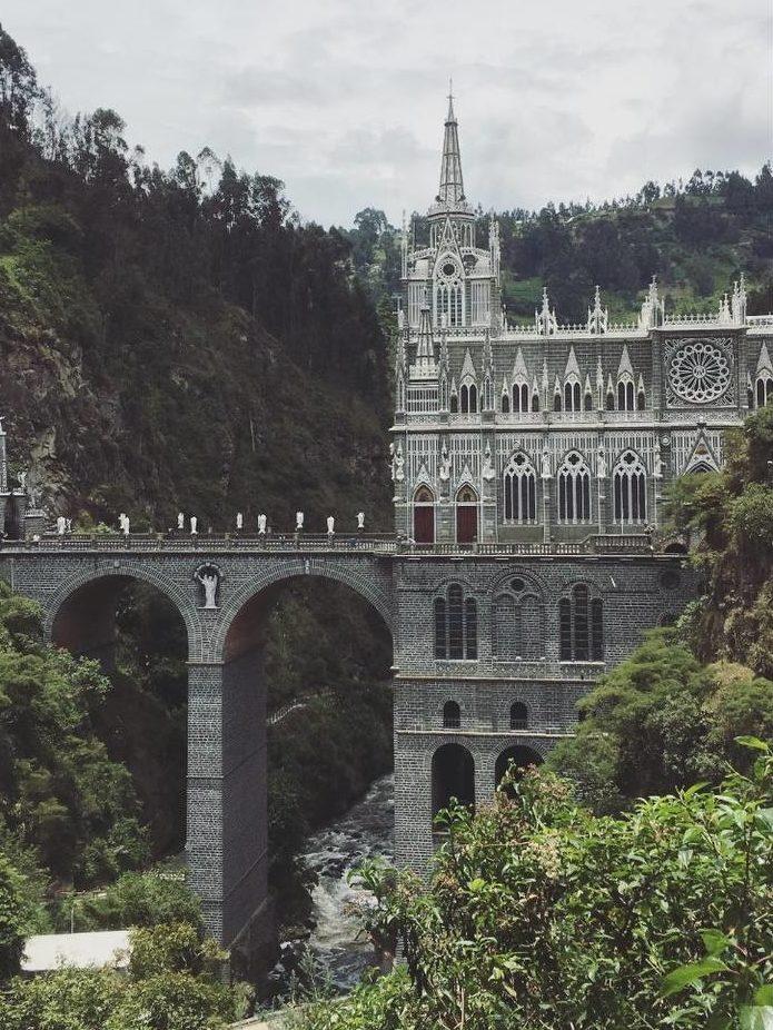 Auch das obligatorische Reisen darf nicht fehlen – hier in Kolumbien.